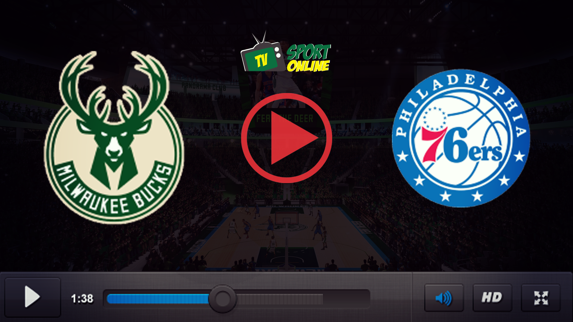 Watch Live Stream  Milwaukee Bucks – Philadelphia 76ers