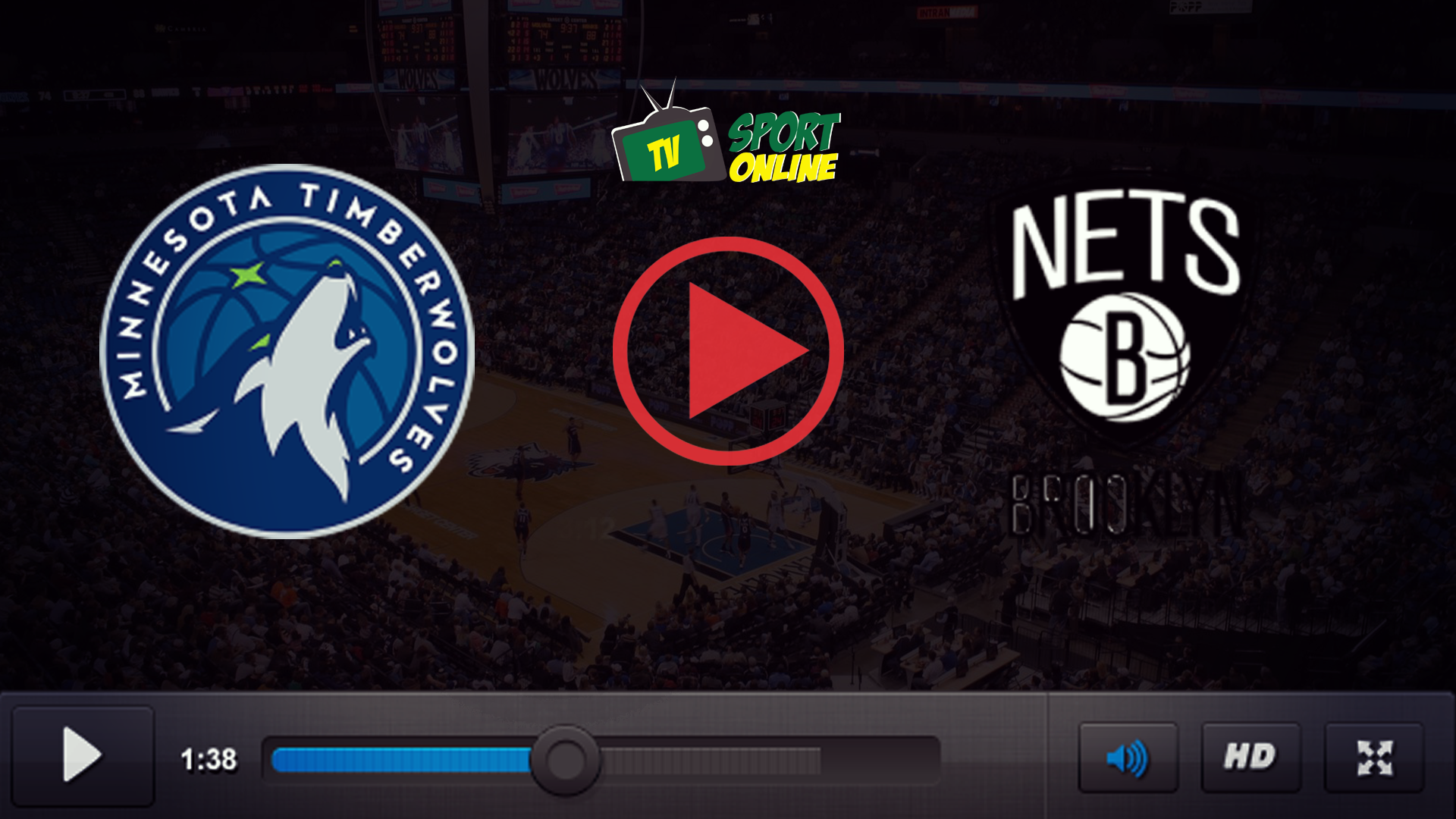 Watch Live Stream Minnesota Timberwolves – Brooklyn Nets