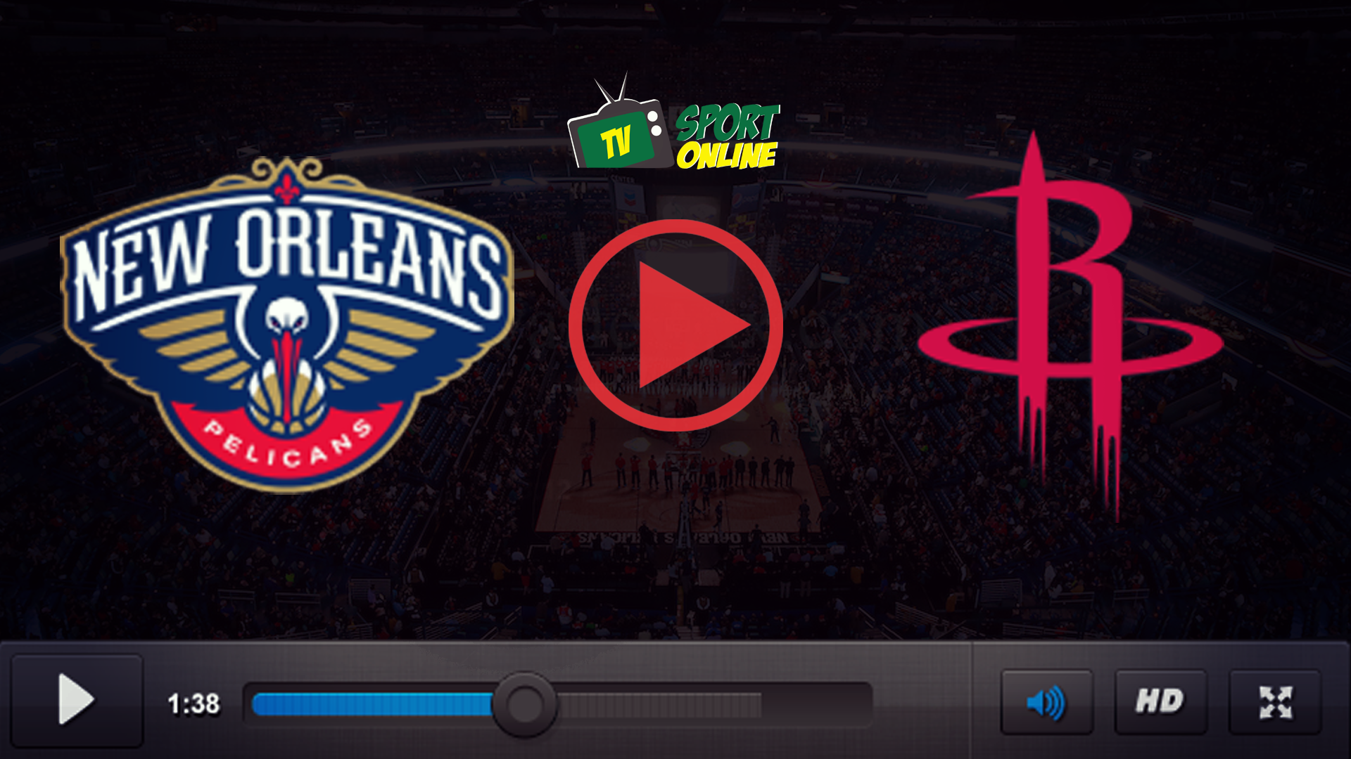 Watch Live Stream New Orleans Pelicans – Houston Rockets