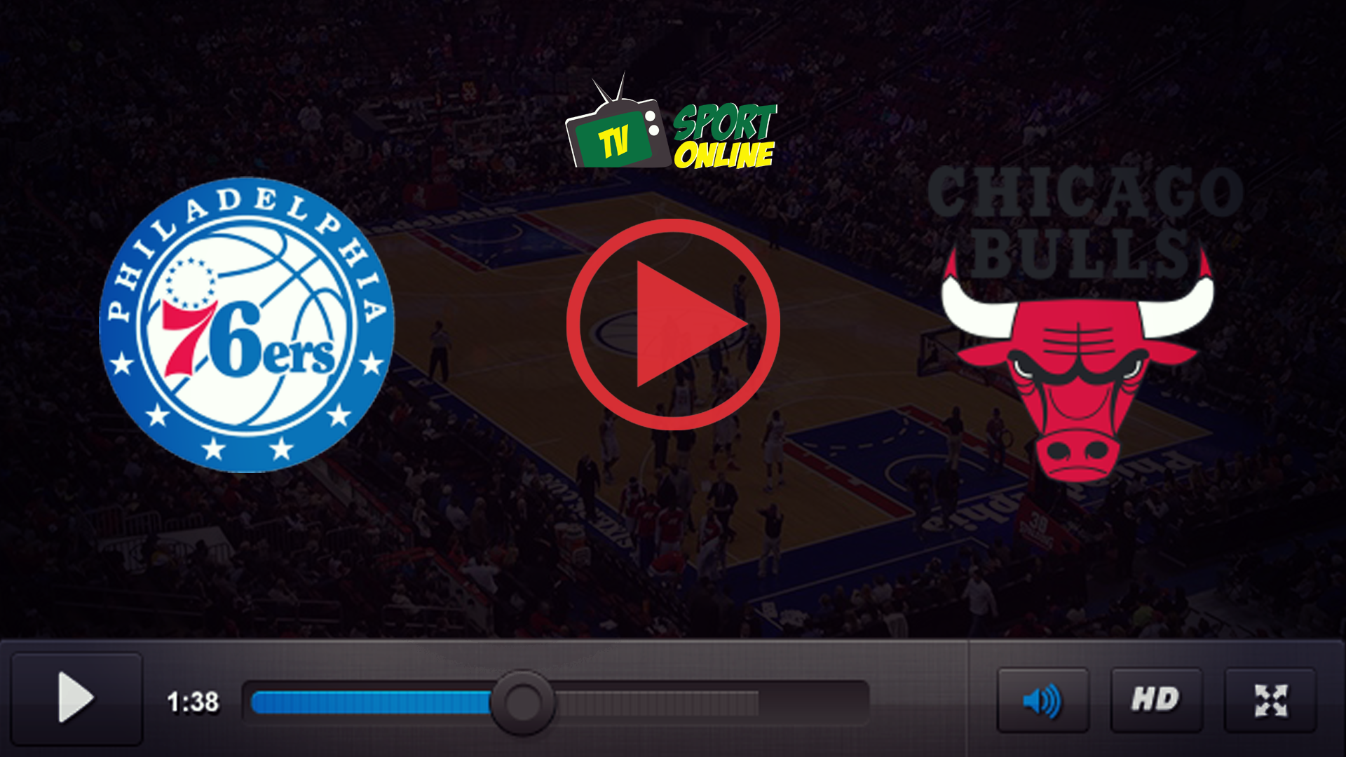 Watch Live Stream Philadelphia 76ers – Chicago Bulls
