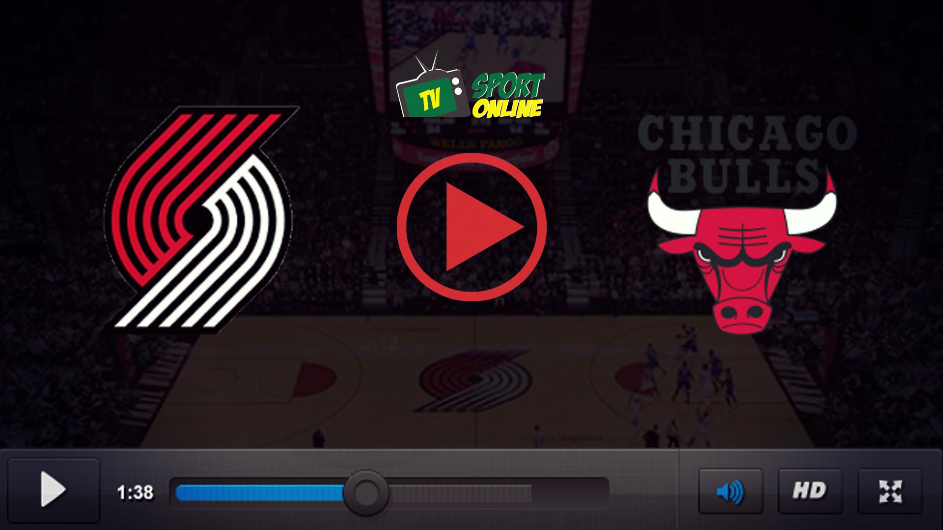 Watch Live Stream Portland Trail Blazers – Chicago Bulls