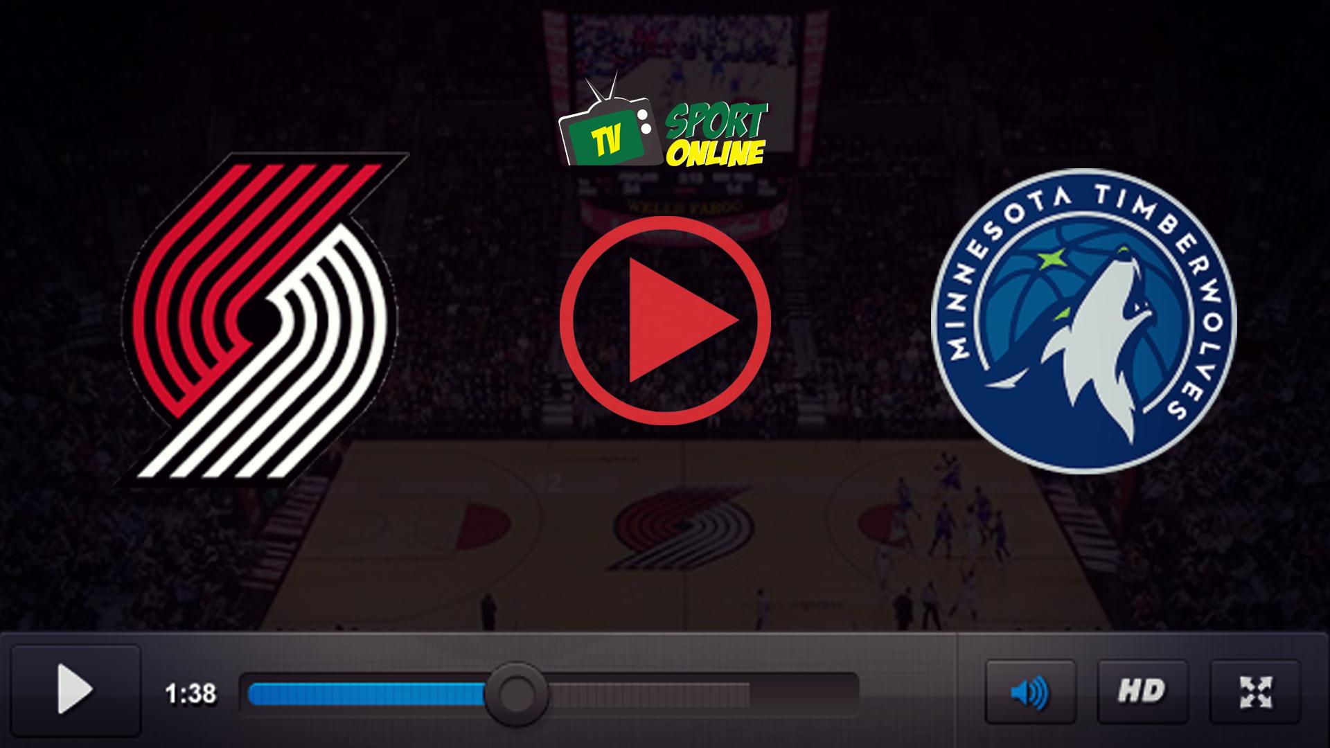 Watch Live Stream Portland Trail Blazers – Minnesota Timberwolves