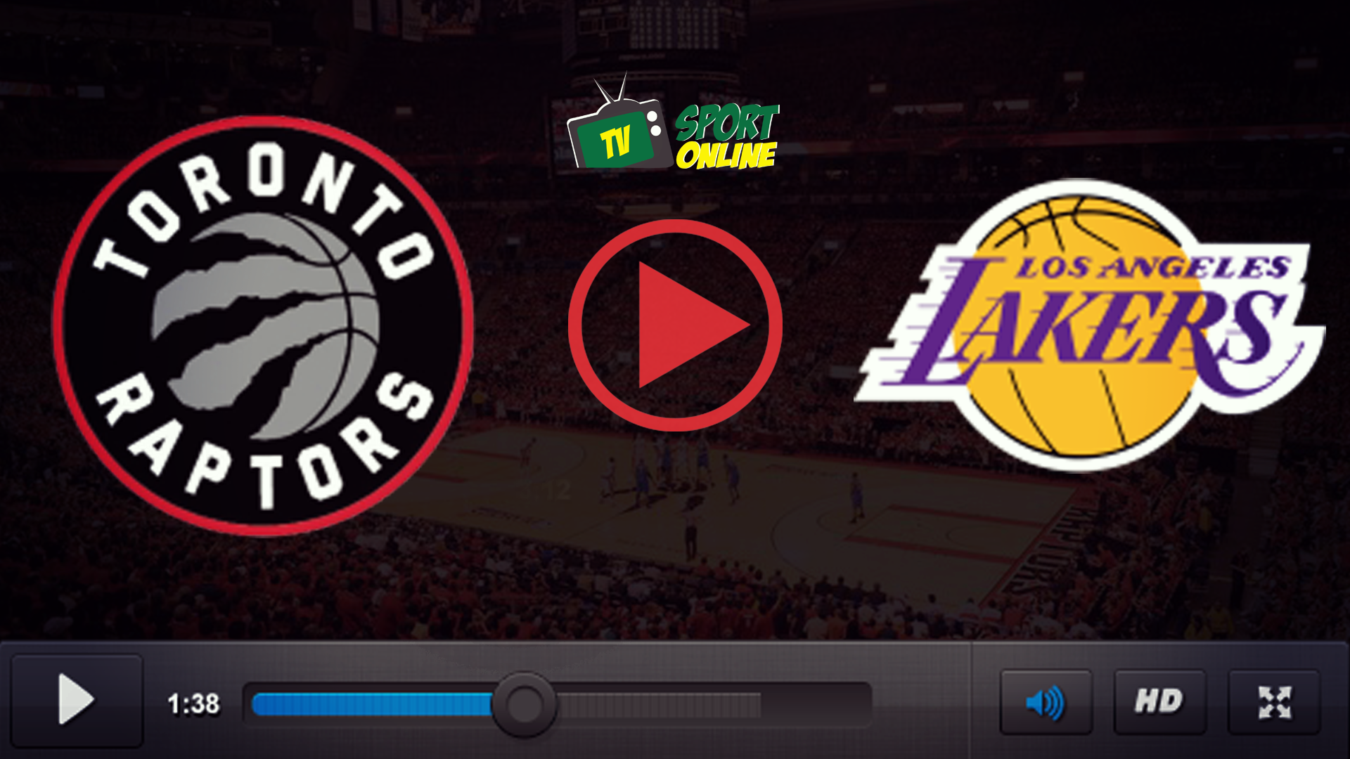 Watch Live Stream Toronto Raptors – Los Angeles Lakers
