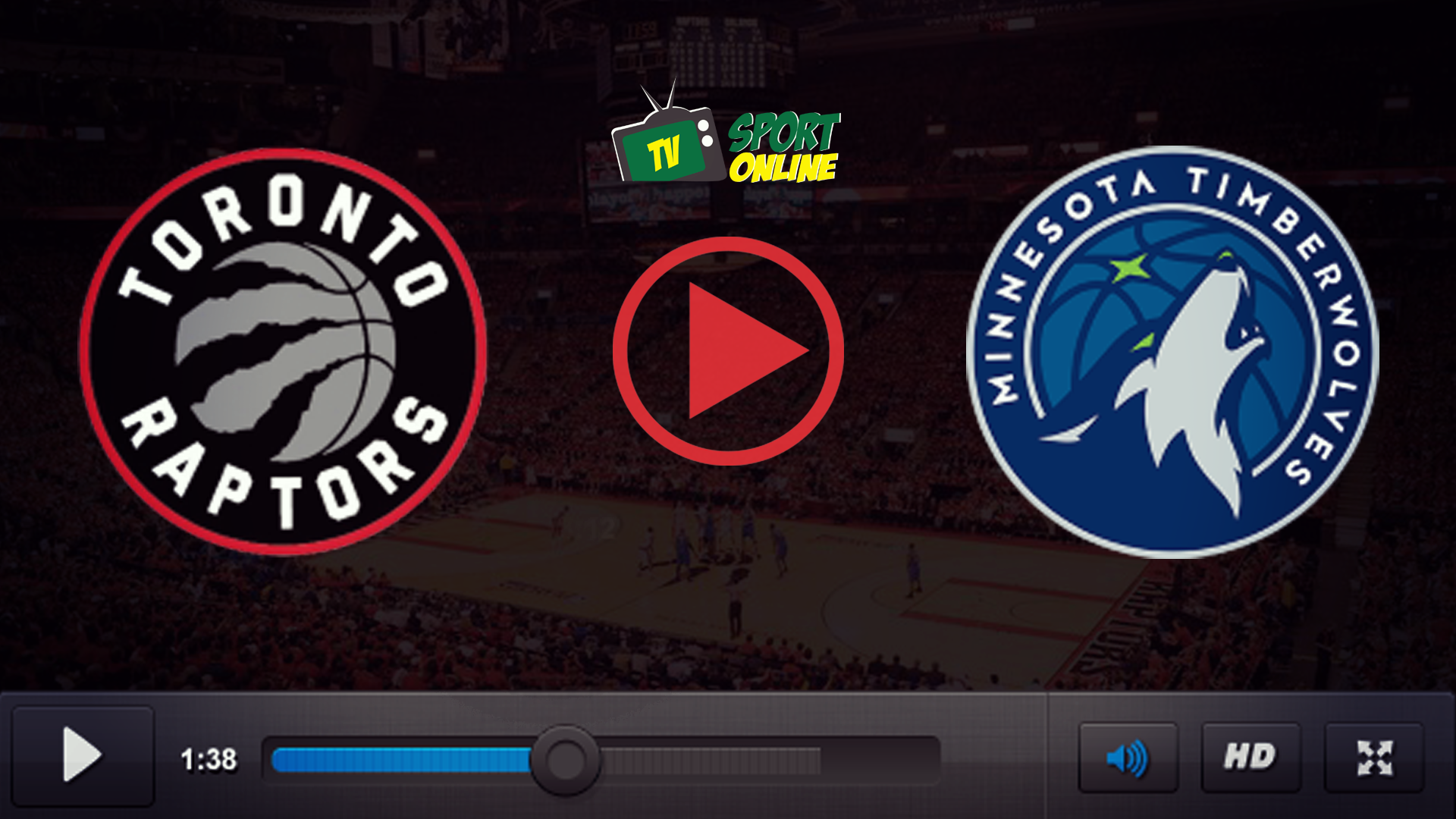 Watch Live Stream Toronto Raptors – Minnesota Timberwolves
