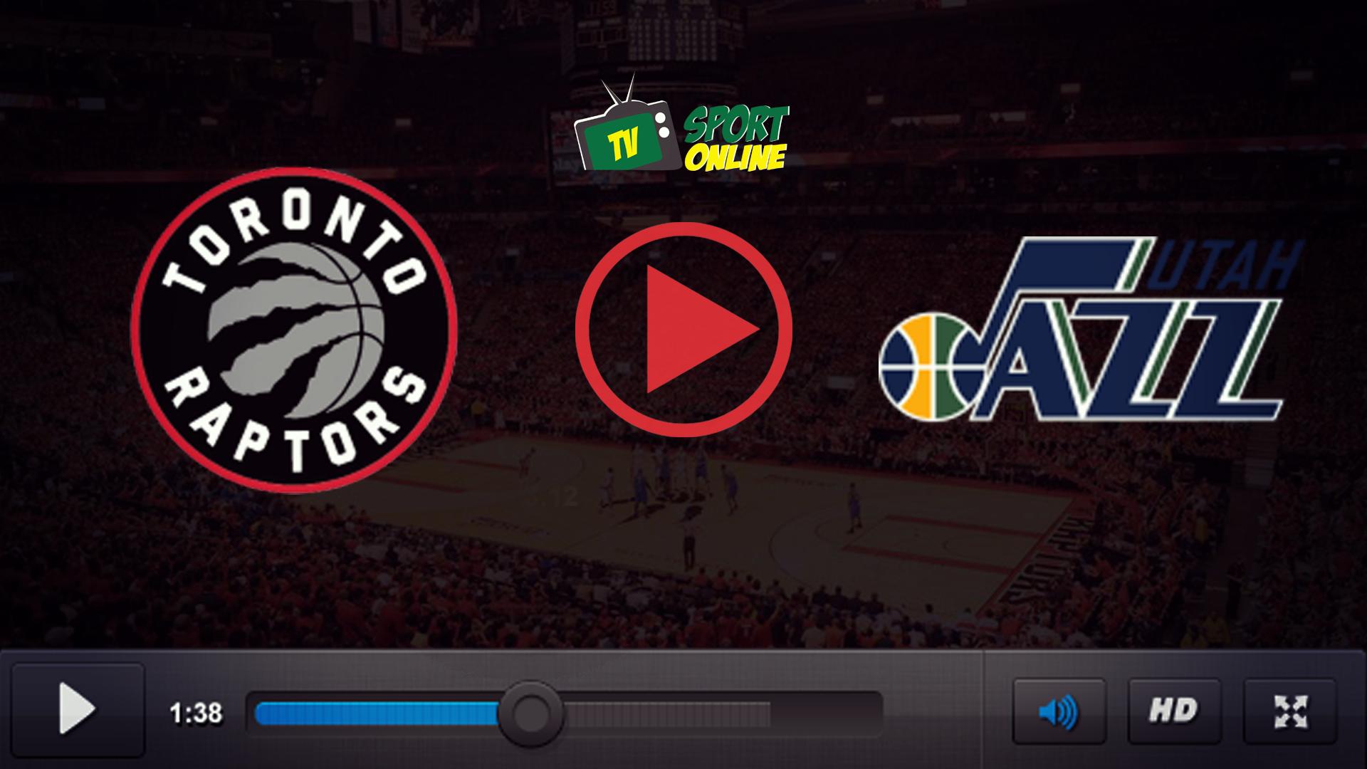 Watch Live Stream Toronto Raptors – Utah Jazz