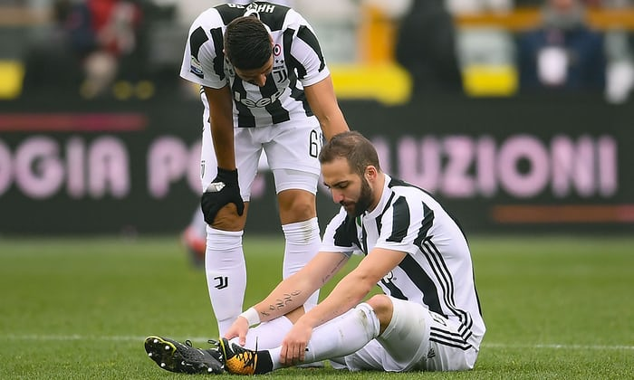 Allegri allays Higuain injury fears ahead of key fixtures