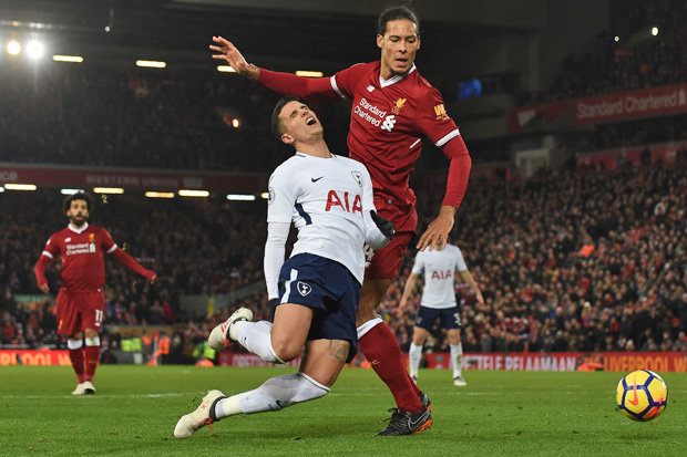 Kane hits back at Van Dijk over dive accusation