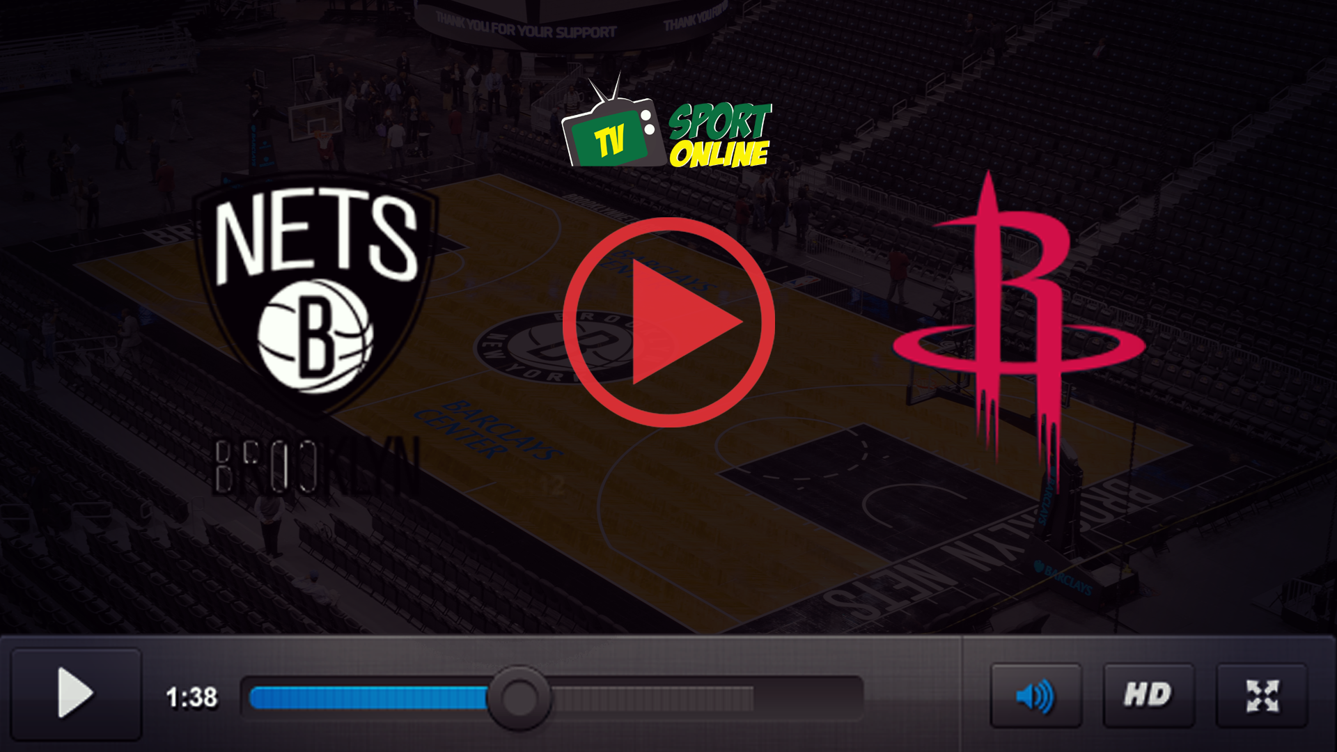 Watch Live Stream Brooklyn Nets – Houston Rockets