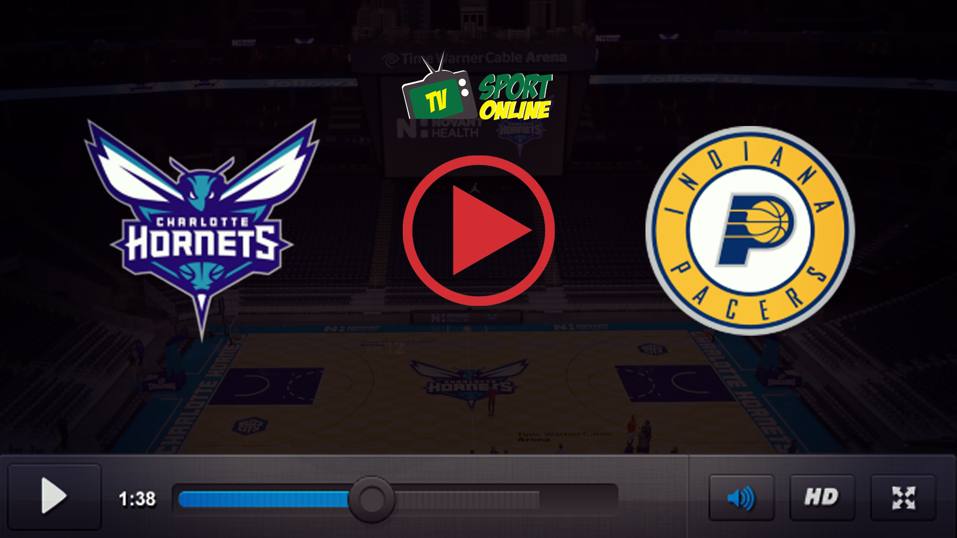 Watch Live Stream Charlotte Hornets – Indiana Pacers
