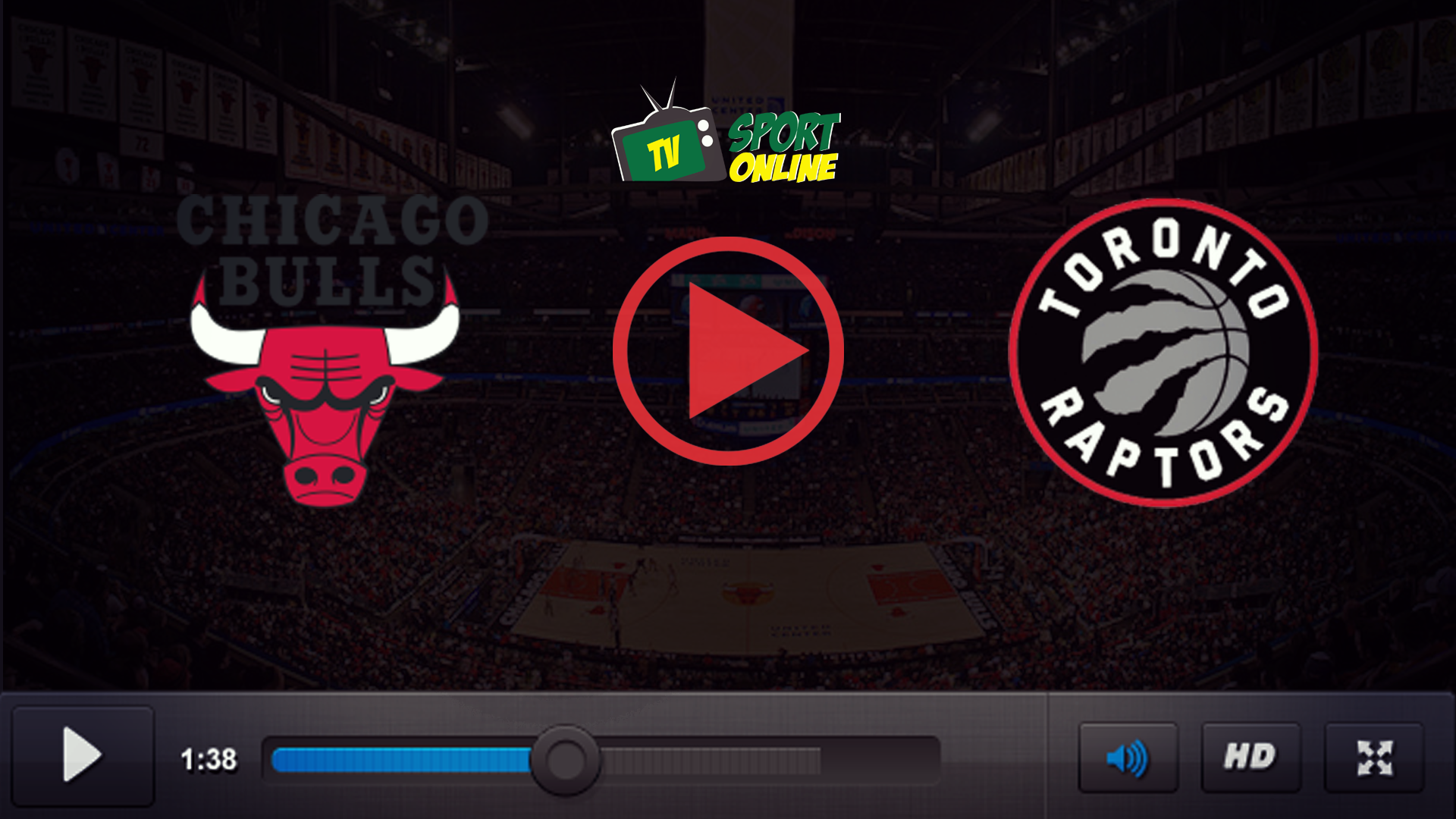 Watch Live Stream Chicago Bulls – Toronto Raptors