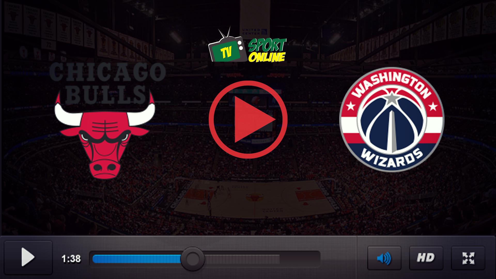 Watch Live Stream Chicago Bulls – Washington Wizards