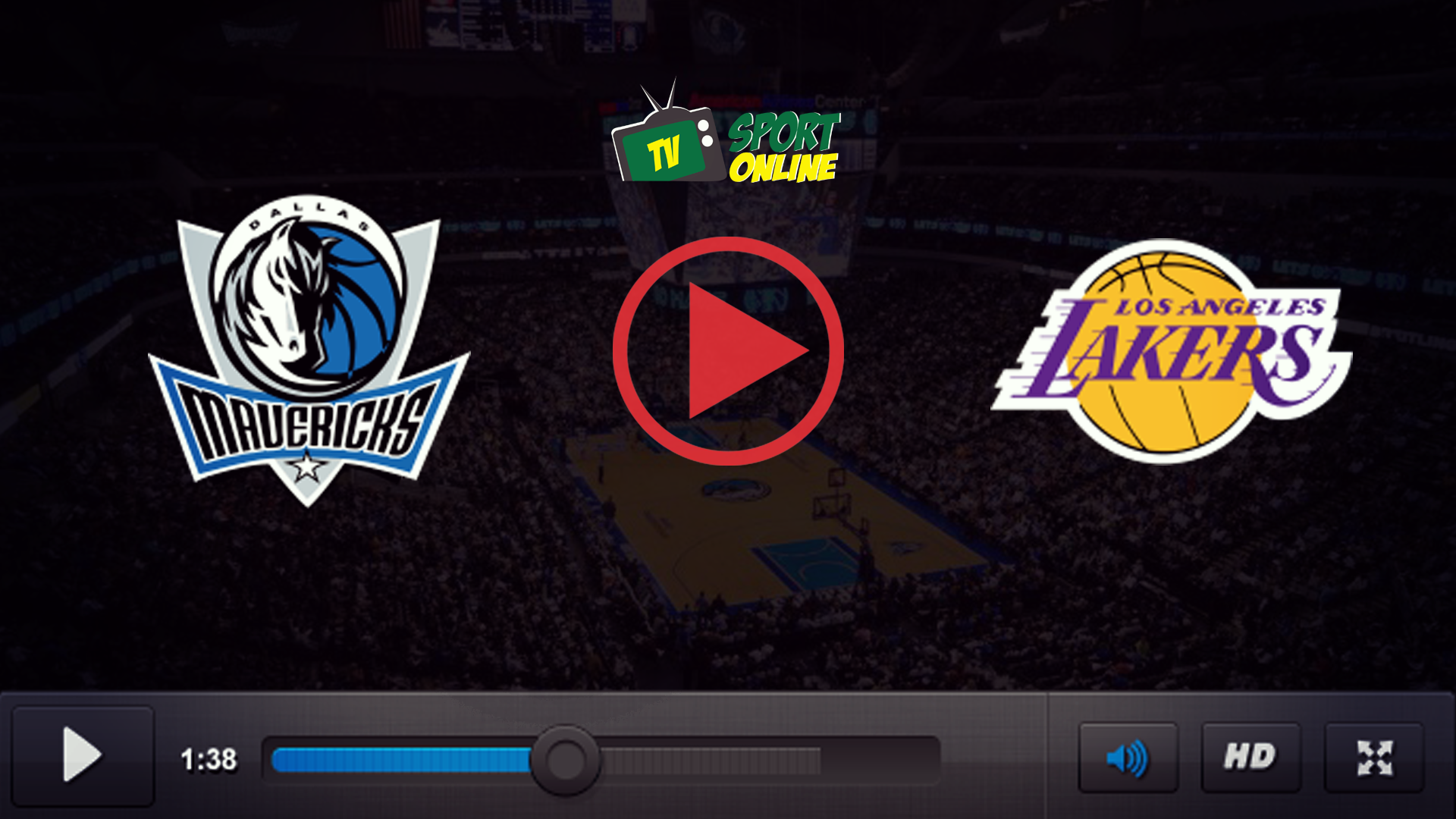 Watch Live Stream Dallas Mavericks – Los Angeles Lakers