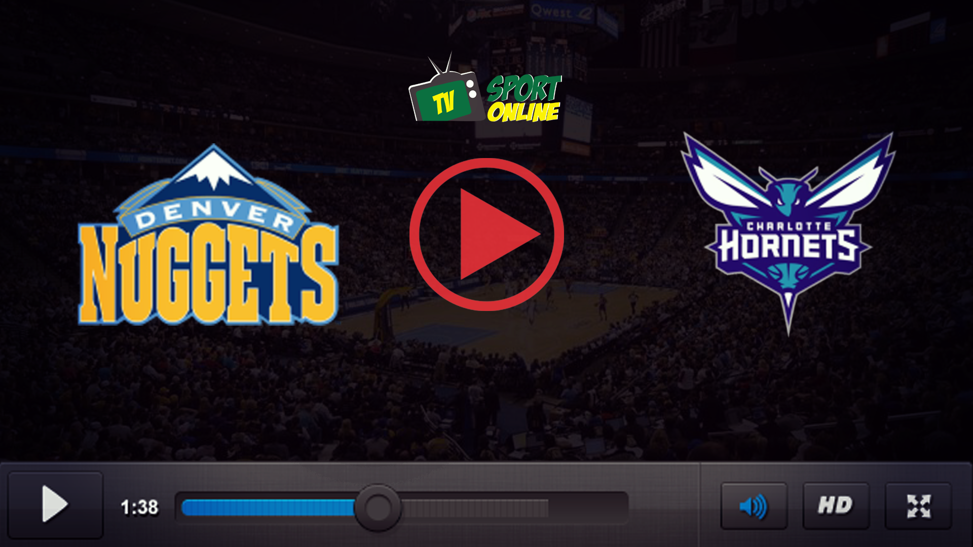 Watch Live Stream Denver Nuggets – Charlotte Hornets