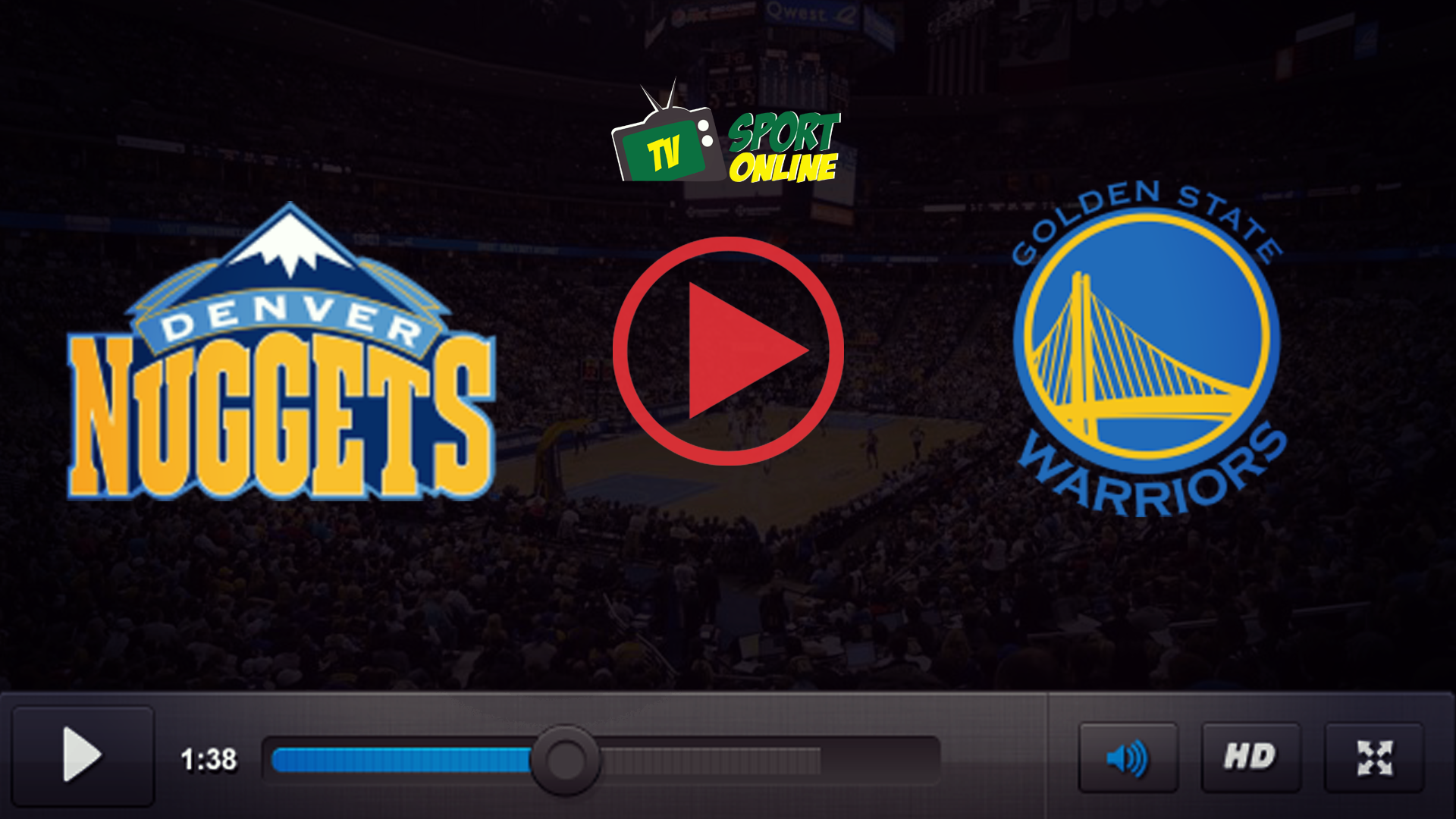 Watch Live Stream Denver Nuggets – Golden State Warriors