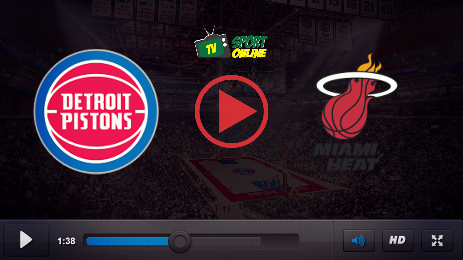 Watch Live Stream Detroit Pistons – Miami Heat