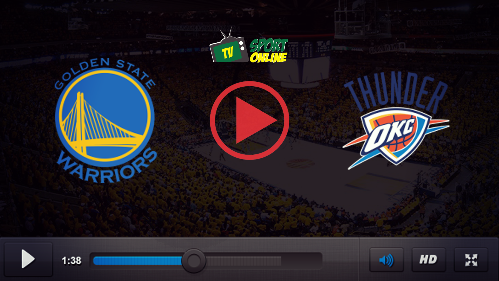 Watch Live Stream Golden State Warriors – Oklahoma City Thunder