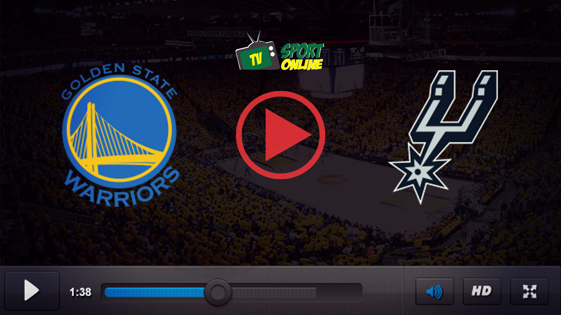 Watch Live Stream Golden State Warriors – San Antonio Spurs