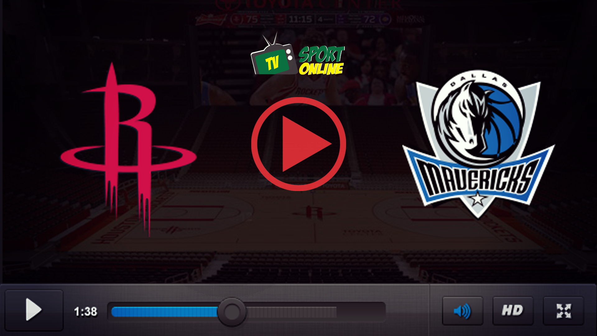 Watch Live Stream Houston Rockets – Dallas Mavericks