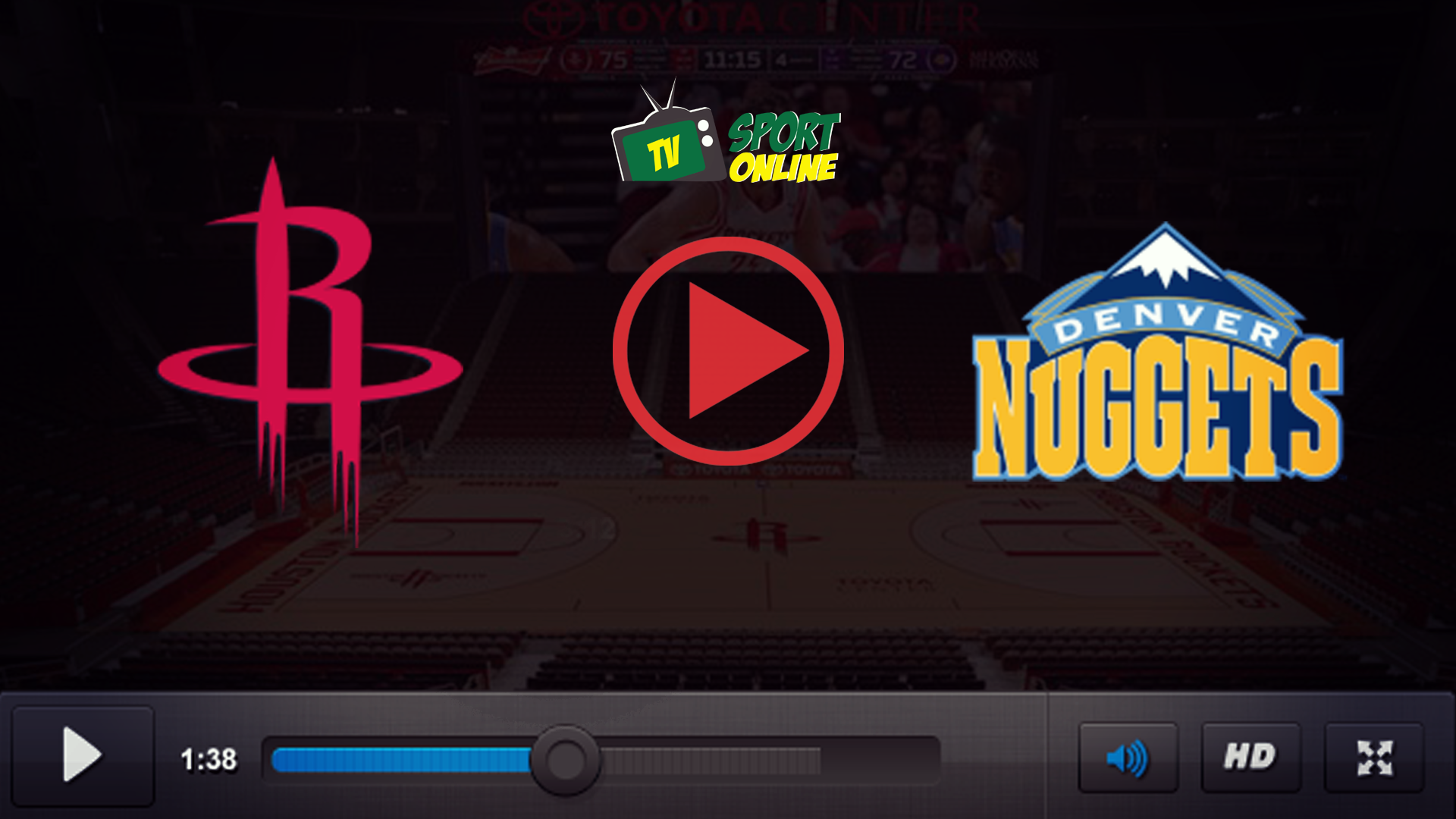 Watch Live Stream Houston Rockets – Denver Nuggets