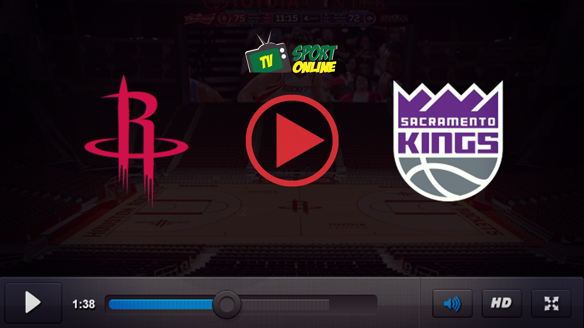 Watch Live Stream Houston Rockets – Sacramento Kings