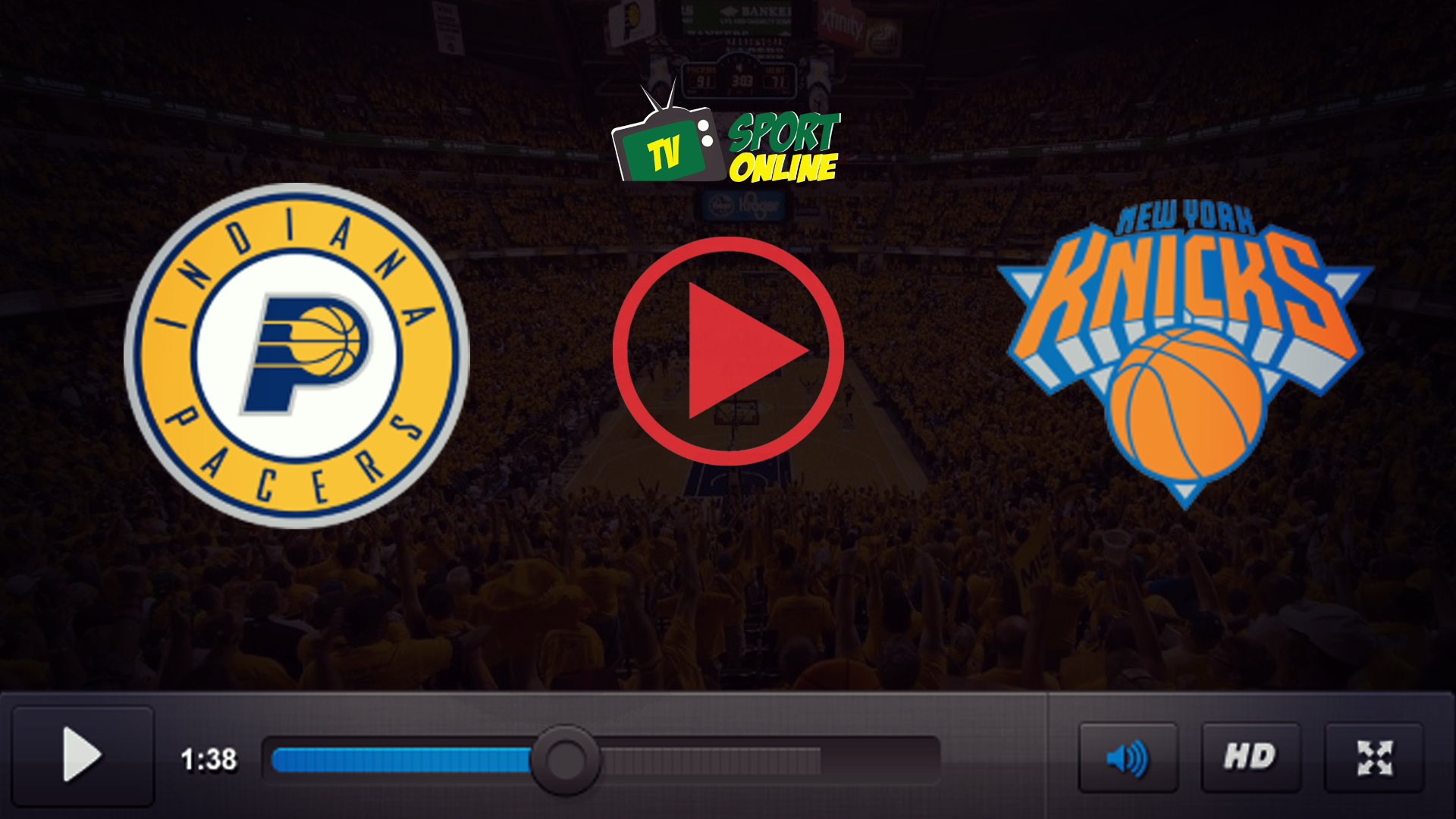 Watch Live Stream Indiana Pacers – New York Knicks