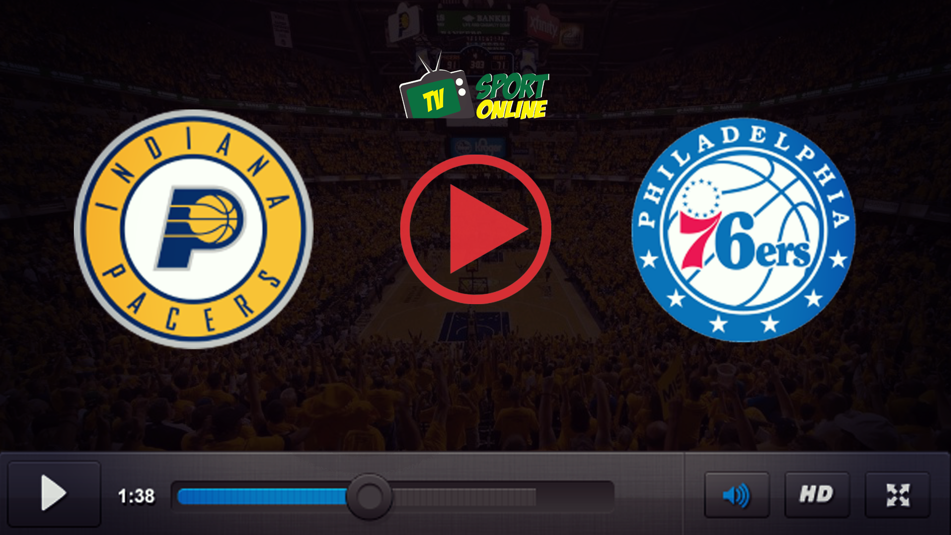 Watch Live Stream Indiana Pacers – Philadelphia 76ers