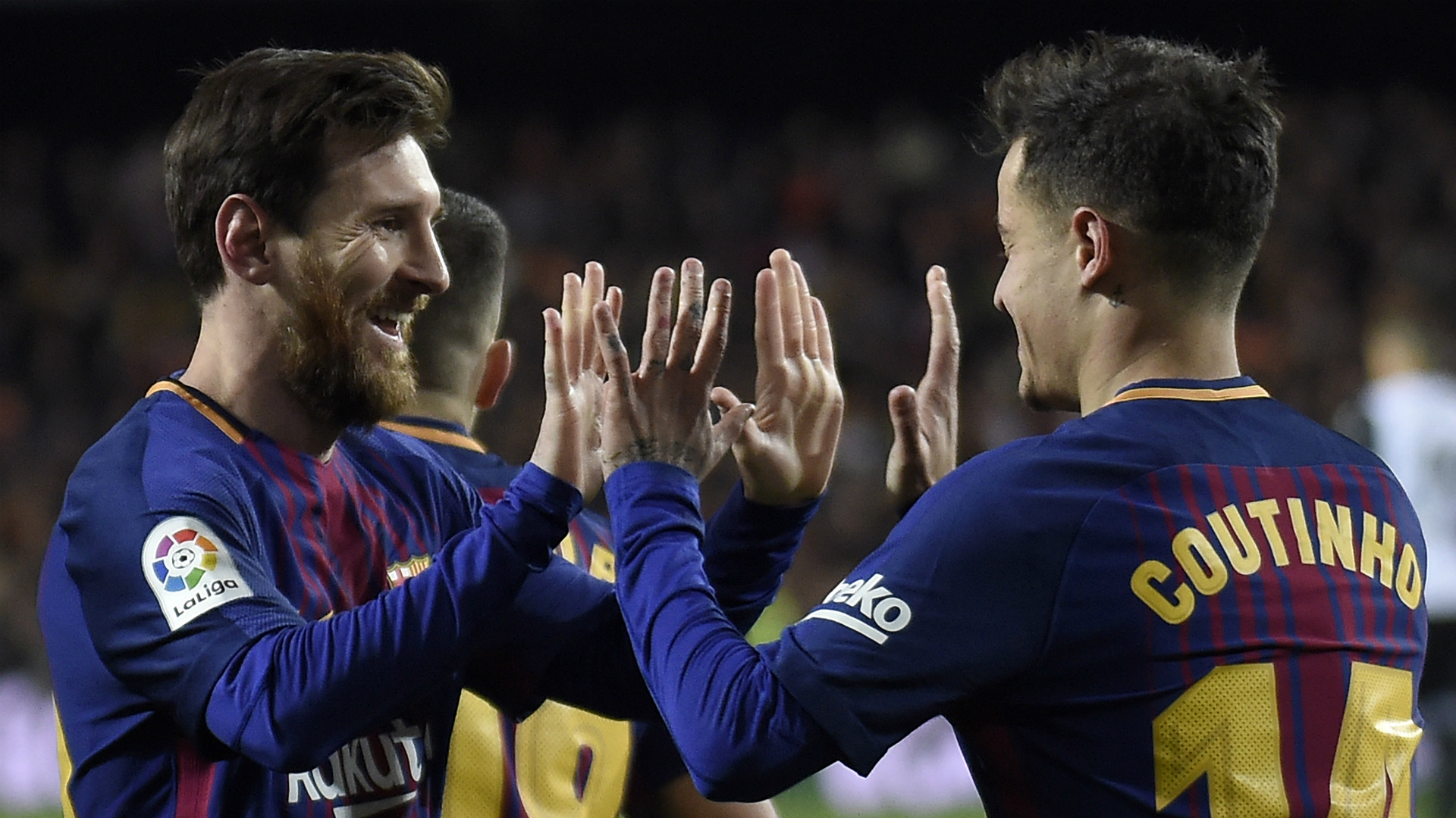 Coutinho enjoying special union with 'best in the world' Messi