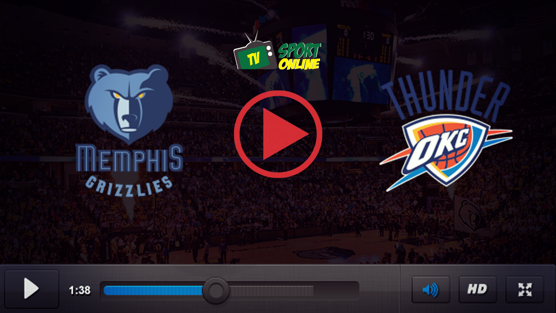 Watch Live Stream Memphis Grizzlies – Oklahoma City Thunder
