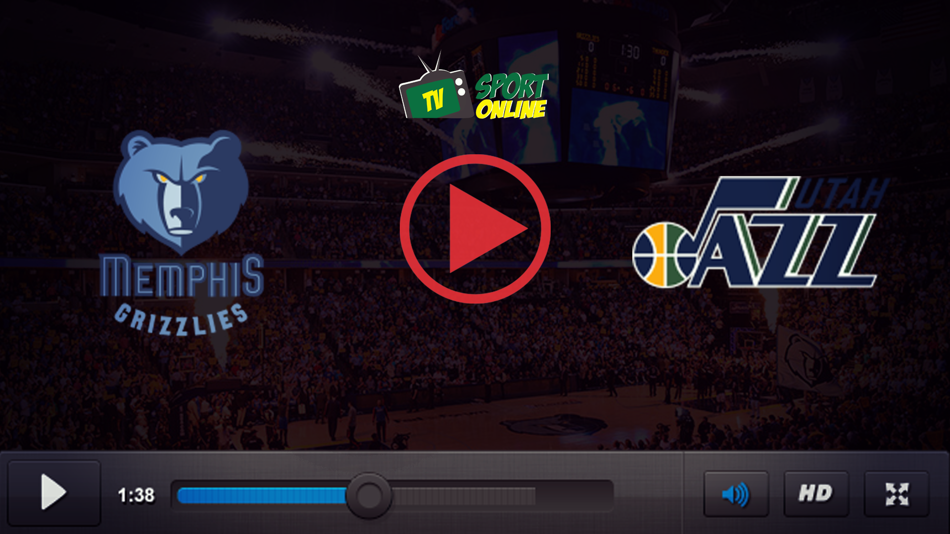 Watch Live Stream Memphis Grizzlies – Utah Jazz