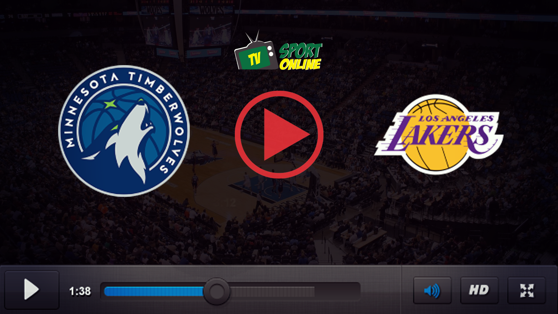 Watch Live Stream Minnesota Timberwolves – Los Angeles Lakers