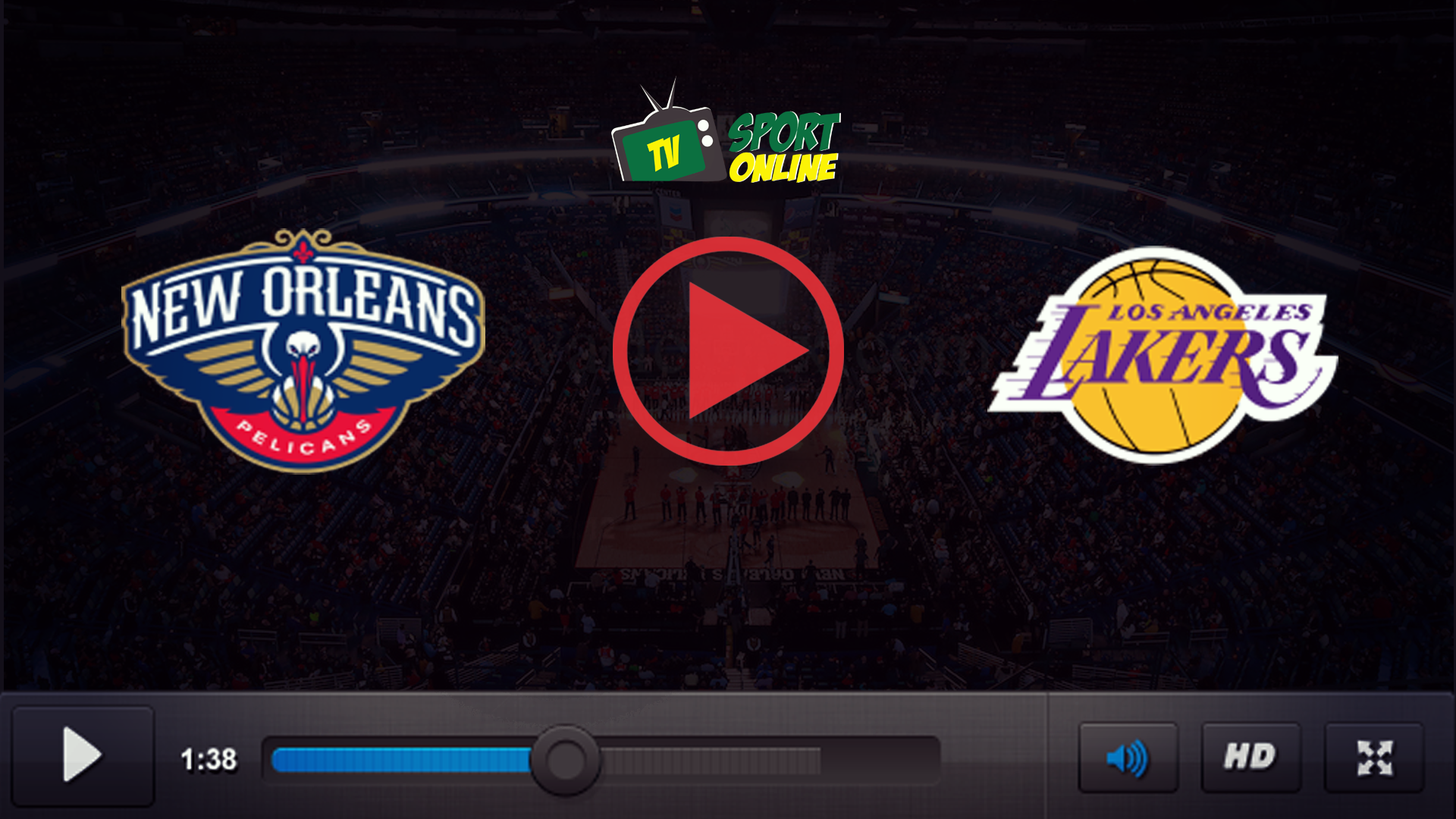 Watch Live Stream New Orleans Pelicans – Los Angeles Lakers