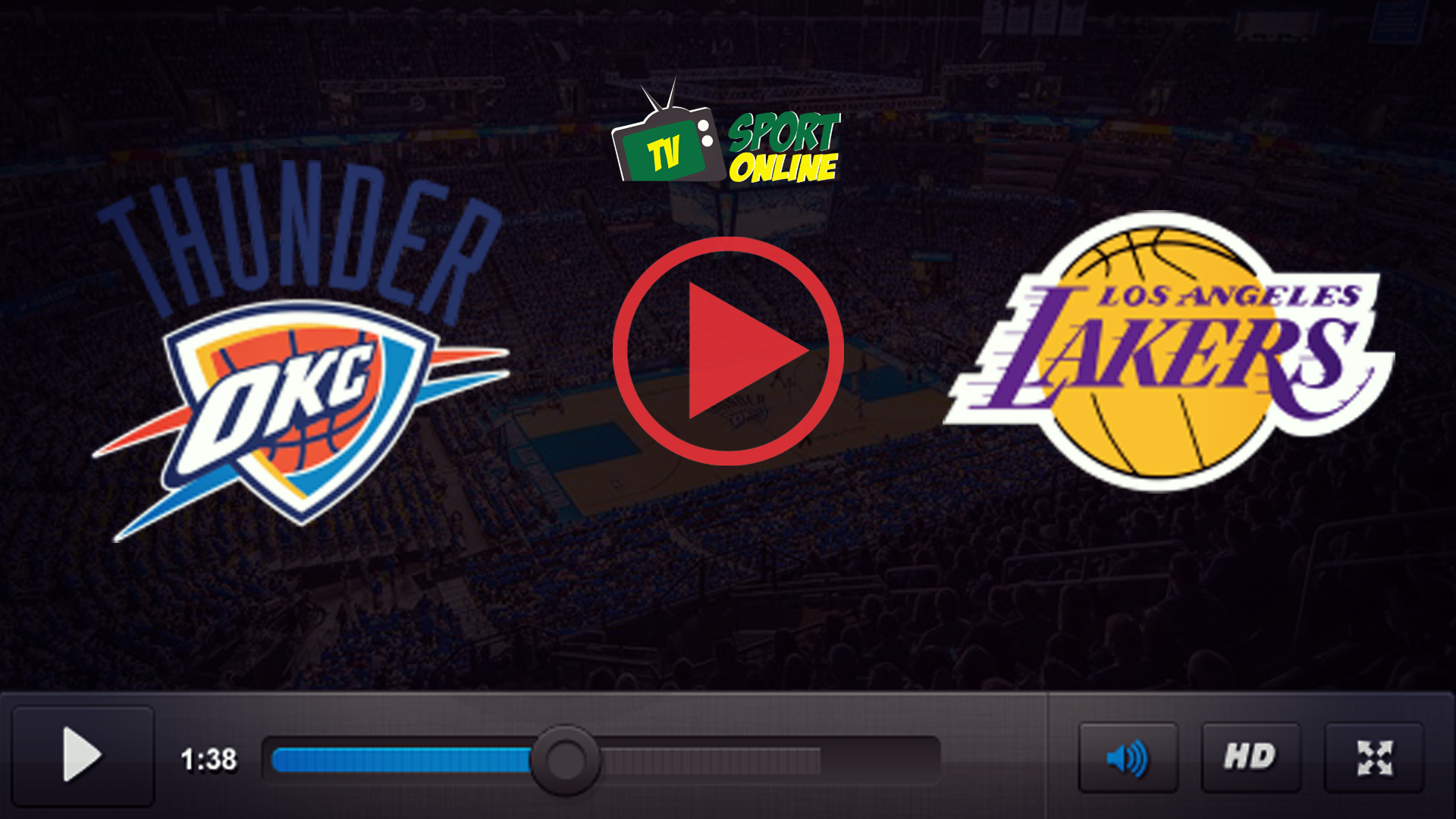 Watch Live Stream Oklahoma City Thunder – Los Angeles Lakers