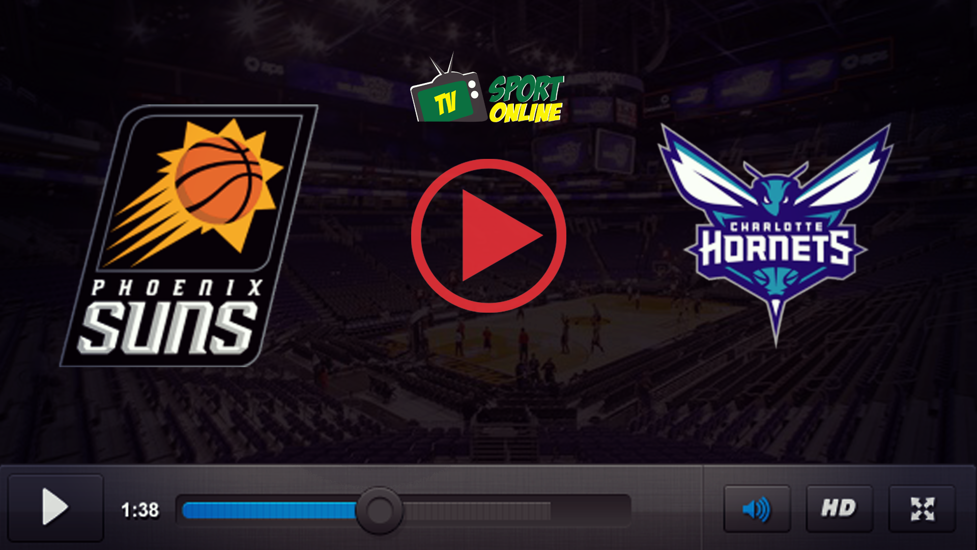 Watch Live Stream Phoenix Suns – Charlotte Hornets