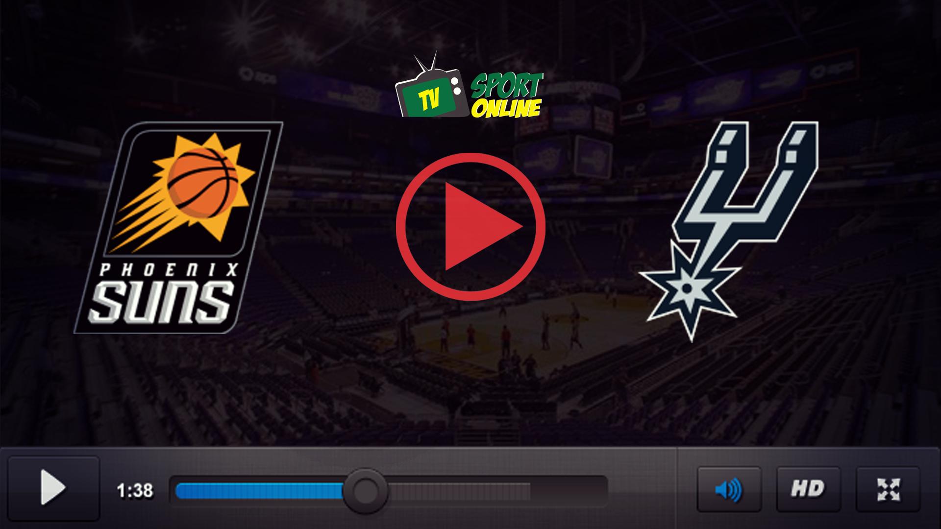 Watch Live Stream Phoenix Suns – San Antonio Spurs