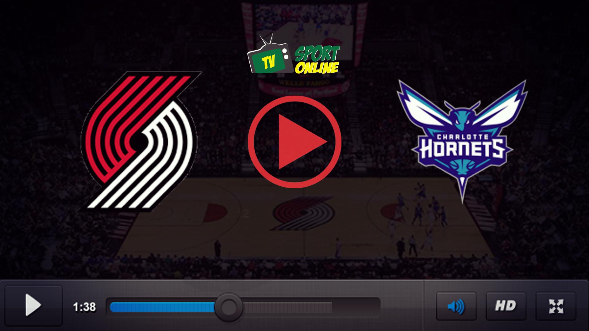 Watch Live Stream Portland Trail Blazers – Charlotte Hornets