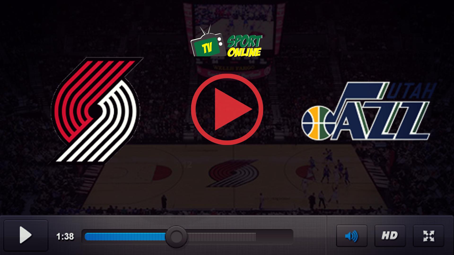 Watch Live Stream Portland Trail Blazers – Utah Jazz