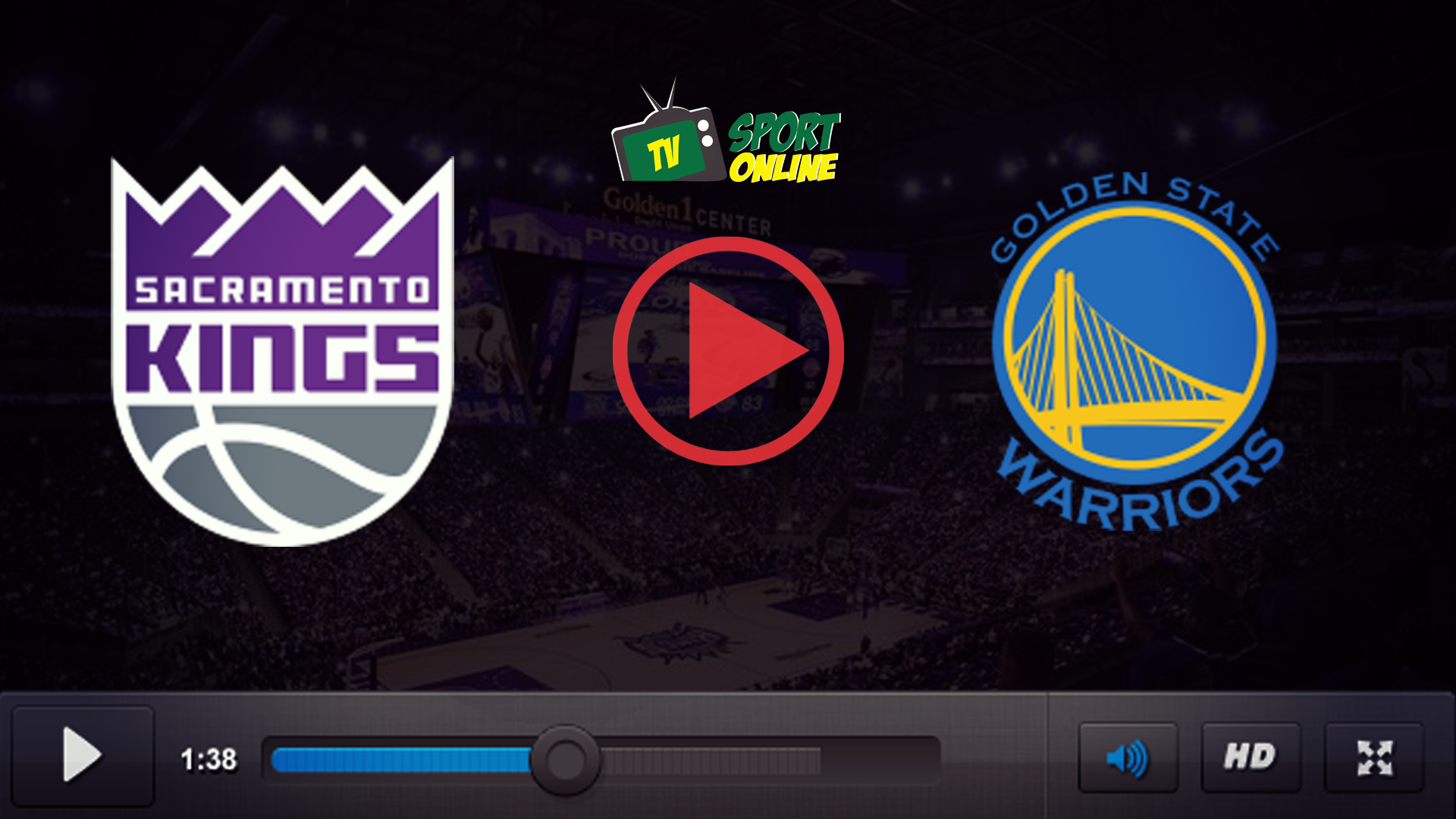 Watch Live Stream Sacramento Kings – Golden State Warriors