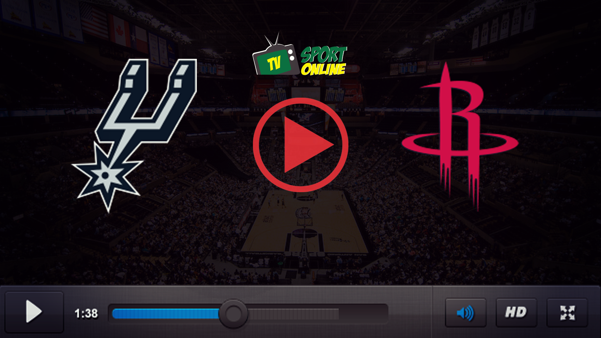 Watch Live Stream San Antonio Spurs – Houston Rockets