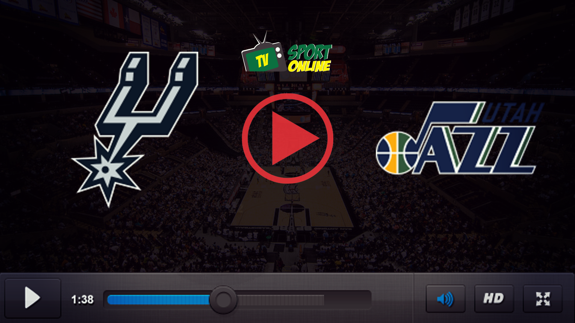 Watch Live Stream San Antonio Spurs – Utah Jazz
