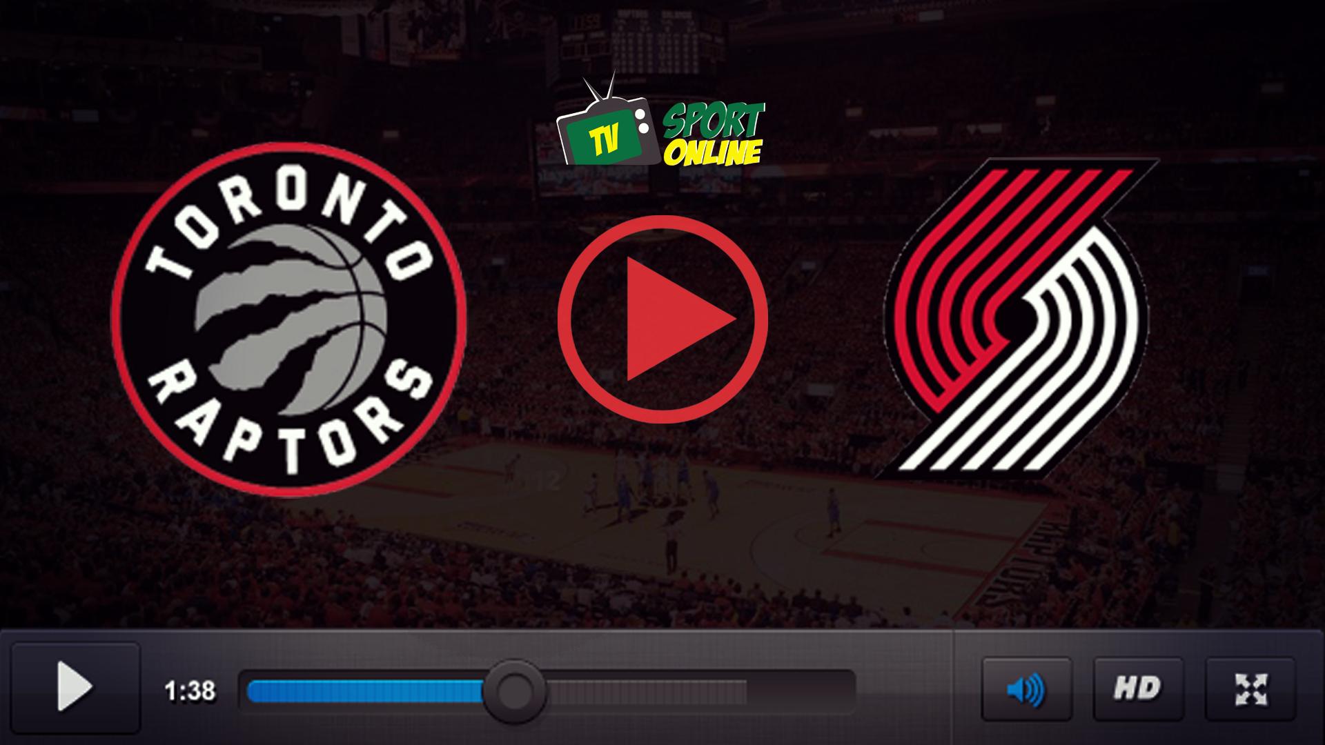Watch Live Stream Toronto Raptors – Portland Trail Blazers