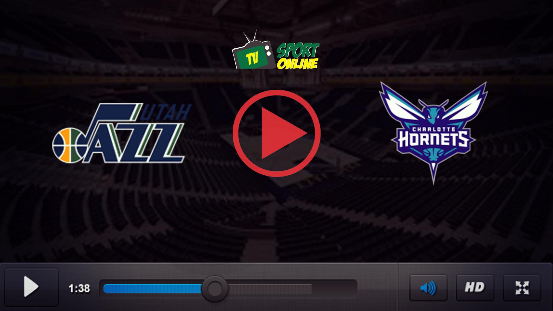 Watch Live Stream Utah Jazz – Charlotte Hornets